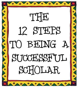 The 12 Steps to Being a Successful Scholar (Awesome Behav.