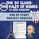 The 39 Clues: The Maze of Bones Creative Projects and Rubric