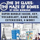 The 39 Clues The Maze of Bones Reading Activities Super Bundle