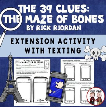 The 39 Clues: The Maze of Bones Text Messaging Reading Activity