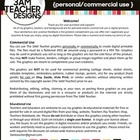 The 3AM Teacher Graphics Terms of Use Document