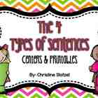 The 4 Types of Sentences {Centers & Printables}