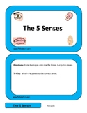 The 5 Senses File Folder Game