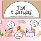 The 5 Senses Lang. Arts, Math &amp; Science SmartBoard Lessons