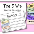 The 5 W's Graphic Organizer