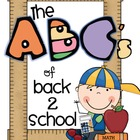 The ABC&#039;s of Back 2 School
