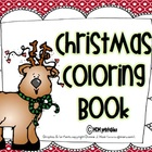 The ABC&#039;s of Christmas (a coloring book)