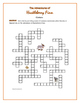 The Adventures of Huckleberry Finn: &quot;Creturs&quot; Crossword