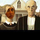 The American Gothic Digital Storytelling Custom Photo Boot