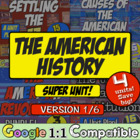 American History Super Unit - Version 1 - 5 Units in 1 Pur