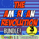 American Revolution Unit Bundle!  3 fun resources to teach