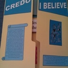 The Apostles' Creed Catholic Lapbook