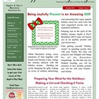 The Apple A Day Way December Newsletter:  Being Joyfully P
