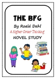 The BFG Higher Order Thinking Novel Study