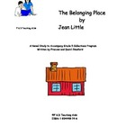 The Belonging Place Novel Study Guide