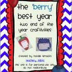 The &#039;Berry&#039; Best Year: Two End-of-the-Year Craftivities