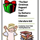 &quot;The Best Christmas Pageant Ever&quot;, Literature Unit, 46 Tot