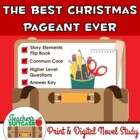"""The Best Christmas Pageant Ever"" {Novel Study and Flip Book}"