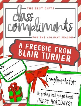 The Best Gifts: Class Compliments for the Holiday Season (