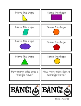 The Big, Big Bang Geometry Game!