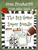 The Big Football Game Super Bundle of FREE Resources and A