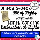 The Bill of Rights (Declaration of Rights) for North Carolina