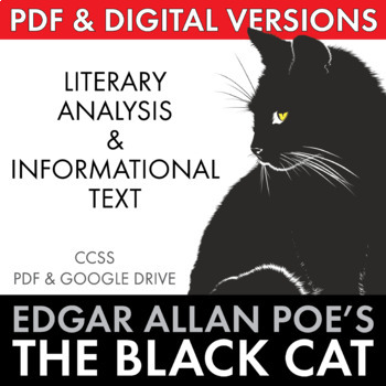 The Black Cat, two-day lesson, Edgar Allan Poe's story w/ non-fiction materials