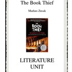The Book Thief by Markus Zusak Literature Unit