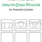 The Book of 52 Random How-To-Draw Pictures for Preschool Children