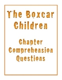 The Boxcar Children Novel Literature Study Chapter Questions
