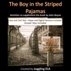 The Boy in the Striped Pajamas Quiz and Test