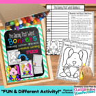 Spring Writing {The Bunny that Went Bonkers-art, following