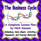 The Business Cycle - Activities and Lesson Plan
