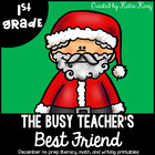 The Busy Teacher&#039;s Best Friend Christmas Edition