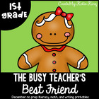 The Busy Teacher's Best Friend December Edition