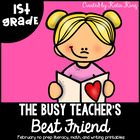 The Busy Teacher's Best Friend February Edition