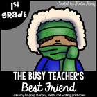 The Busy Teacher&#039;s Best Friend January Edition