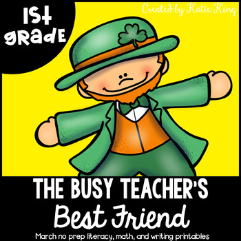 The Busy Teacher's Best Friend March Edition