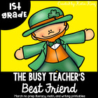 The Busy Teacher&#039;s Best Friend March Edition