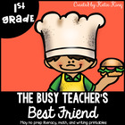The Busy Teacher&#039;s Best Friend May Edition