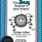 The Busy Teacher's Best Friend: October Edition KINDER