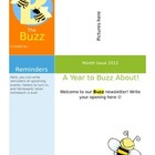 The Buzz: Busy Bee Newsletter Template