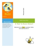 The Buzz: Bee Theme Newsletter
