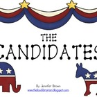 The CANDIDATES! An Election Lesson with Online Research