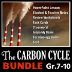 The Carbon Cycle - LESSON BUNDLE
