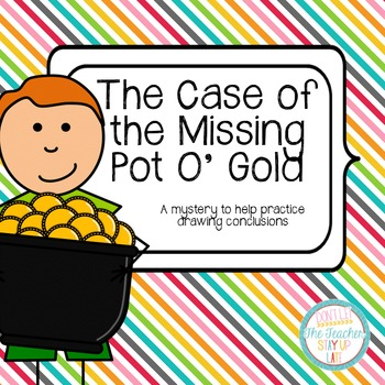 The Case of the Missing Pot O' Gold - an activity for draw