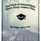 The Cask of Amontillado Edgar Allen Poe Lesson Plan, Worksheets