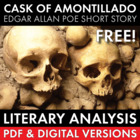 The Cask of Amontillado, FREE 2-day lesson, lit. analysis