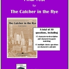The Catcher in the Rye Final Test