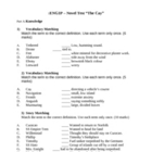 The Cay Novel Unit Test